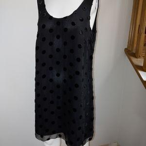 J crew silk blend dress